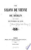 Les Salons de Vienne et de Berlin