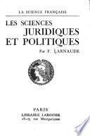 Les sciences juridiques et politiques
