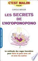 Les secrets de l'ho'oponopono, c'est malin