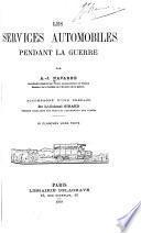Les services automobiles pendant la guerre