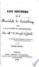 Les Soupers de la Maréchale de Luxembourg