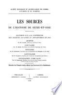 Les sources de l'histoire de Seine-et-Oise