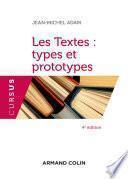 Les Textes : types et prototypes - 4 éd.