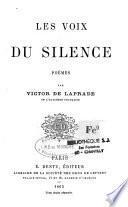 Les Voix du Silence; poèmes