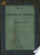 Lettres au peuple