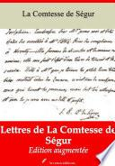 Lettres de La Comtesse de Ségur