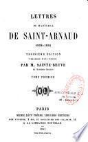 Lettres du maréchal de Saint-Arnaud, 1832-1854