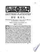 Lettres patentes du Roi, portant reglement pour l'Ecole Royale de Chirurgie d'Orleans