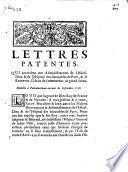 Lettres patentes, qui accordent aux administrateurs de l'Hôtel-Dieu & de l'Hôpital des Incurables de Paris, & le receveur, le droit de committimus au grand sceau