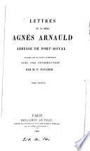 Lettres, publ, sur les textes authentiques, avec une intr., par P. Faugère
