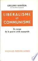 Libéralisme et communisme