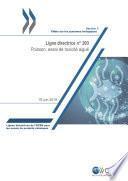 Lignes directrices de l'OCDE pour les essais de produits chimiques, Section 2 Essai n° 203: Poisson, essai de toxicité aiguë
