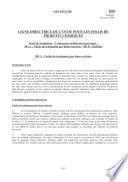 Lignes directrices de l'OCDE pour les essais de produits chimiques, Section 3 Essai n° 303: Essai de simulation - Traitement aérobie des eaux usées - A: Unités de traitement par boues; B: Biofilms