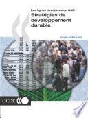 Lignes directrices du CAD Stratégies de développement durable