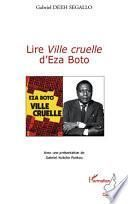 Lire Ville cruelle d'Eza Boto