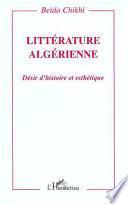 Littérature algérienne
