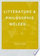 Littérature & philosophie mèlées...