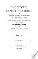 Lobbes, son abbaye et son chapitre