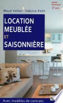 Location meublée et saisonnière - 3eme edition