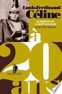 Louis-Ferdinand Céline à 20 ans