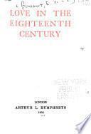 Love in the Eighteenth Century