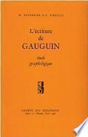 L'écriture de Gauguin