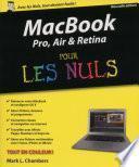 MacBook Pro, Air, Retina Pour les Nuls