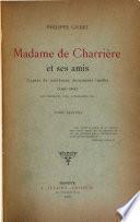 Madame de Charrière et ses amis