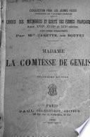 Madame la Comtesse de Genlis