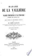 Mademoiselle de La Vallière et Marie-Thérèse d'Autriche, femme de Louis XIV