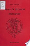 Magie et religion étrusques