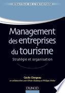 Management des entreprises du tourisme