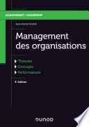 Management des organisations - 5e éd.