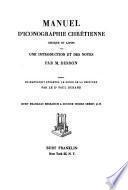 Manuel d'iconographie chrétienne grecque et latine