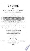 Manuel de L'Amateur D'Estampes
