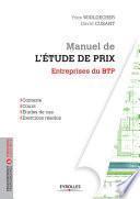 Manuel de l'étude de prix - Entreprises du BTP