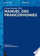 Manuel des francophonies