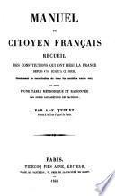 Manuel du citoyen français