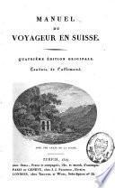 Manuel du voyageur en Suisse