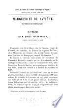 Marguerite de Bavière, duchesse de Bourgogne