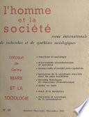 Marx et la sociologie