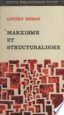 Marxisme et structuralisme