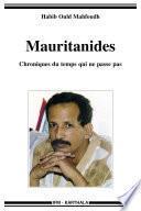 Mauritanides. Chroniques du temps qui ne passe pas