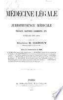 Médecine légale et jurisprudence médicale