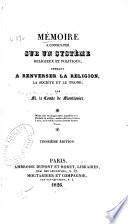 Mémoire à consulter sur un système religieux et politique