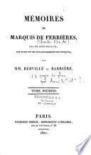 Mémoire du marquis de Ferrières