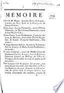 Mémoire pour Me. Pierre-Antoine Devic de Logny ..., le sieur Jean-Jacques Parmentier ..., & Marie-Jeanne Parmentier ..., le sieur Pierre-Louis Prudhomme ..., & Jeanne-Françoise Prudhomme ..., Me. Joseph-Antoine Aubert ..., Bailli de Launoy, & Marie-Jeanne Prudhomme ..., et Anne Cambray ..., tous ... demandeurs contre Nicolas Simonet ..., Nicolas-Onezime Pescheux ..., & Marie-Nicole Pescheux ..., en présence de Pierre-Onezime Lagrive ..., Robert Poncellet ..., & Marie-Josephe Lagrive ..., et aussi en présence de Me. Antoine Mailfer ..., et de Marie de Maubuisson ...