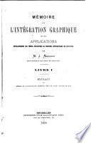 Mémoire sur l'intégration graphique et ses applications