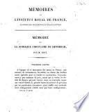 Mémoire sur le zodiaque circulaire de Denderah