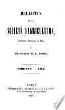 Mémoires [afterw.] Bulletin. 1827-1954.-Nouv. [entitled] Revue du Gévaudan